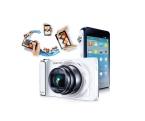 Galaxy Camera. Perfectă pentru cei care vor să fie mereu conectați la rețelele sociale și să impărtășească rapid și la o calitate impresionantă imagini și filme, Galaxy Camera este echipată cu un senzor CMOS, zoom optic 21x, Android 4.1 și touch screen.