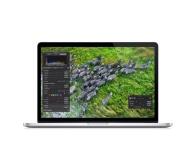 """MacBook Retina 15"""". MacBook Pro vine acum cu uimitorul ecran Retina, ce are cea mai mare rezoluție din lume, dar și cu arhitectură flash integrală, cele mai rapide procesoare mobile și un design incredibil de subțire și ușor."""