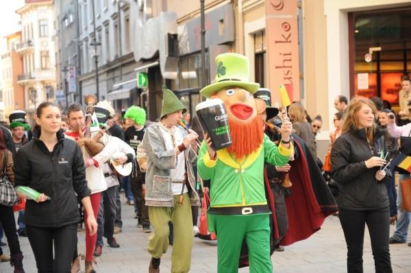 Parada St Patrick's Day 2012 - Centrul Vechi Bucuresti