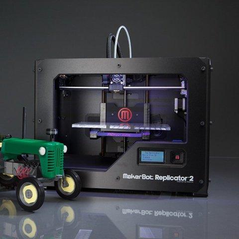 replicator 2 desktop 3D printer