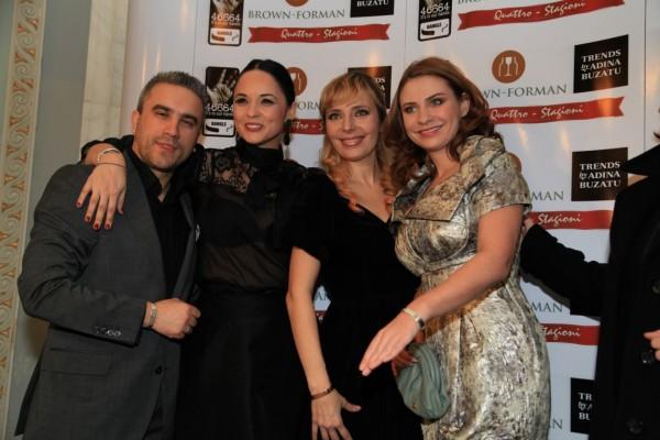 Zoli Toth, Andreea Marin, Roxana Iliescu, Adina Buzatu