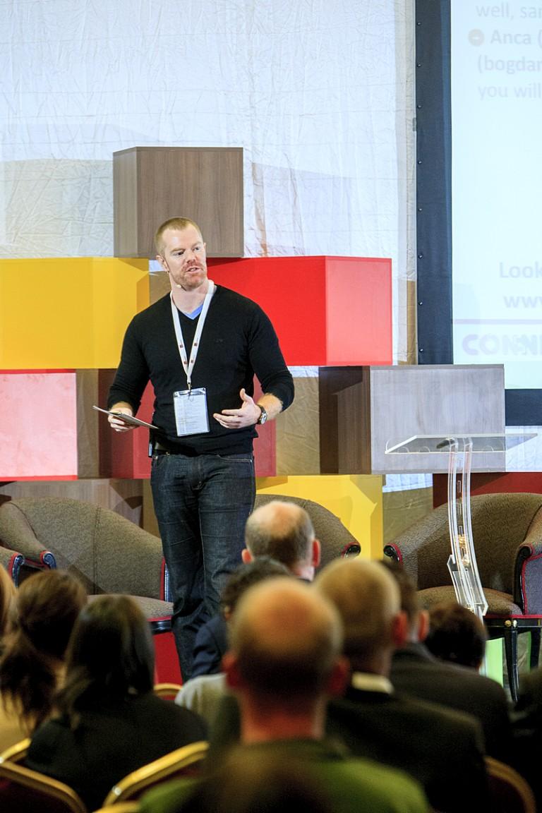 Chris Worman, Director of Program Development la TechSoup Global Network, moderatorul conferintei